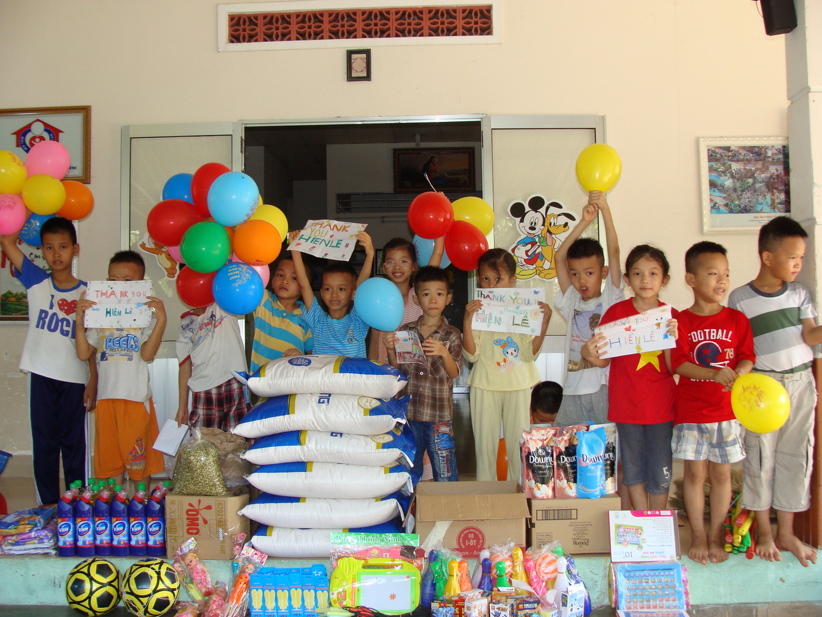 Gifts And A Party At The Thien Tam Orphanage Loving
