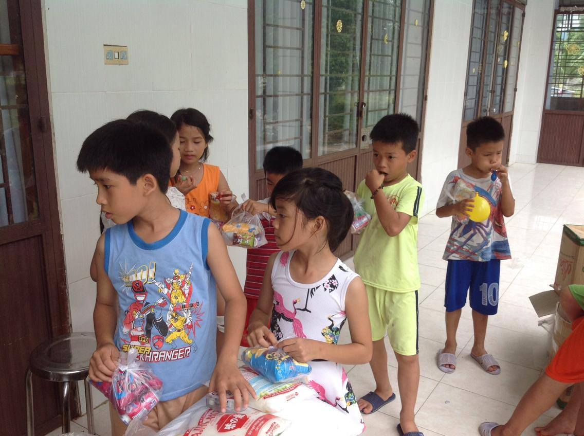 Visit to the Dai An Orphanage – Loving Kindness Vietnam